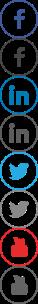 Compass Sprite - social media icons including hover states